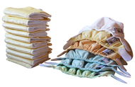 Close Parent Newborn Nappies