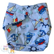 NEW! Alva Baby Onesize Nappy Wraps