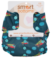 NEW! Smart Bottoms Too Smart Onesize Nappy Wraps