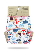 NEW! Petit Lulu Maxi Night Fitted Nappy