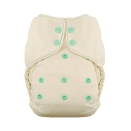 Thirsties Onesize Natural Fitted Nappies