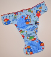 30% OFF! Dunk n Fluff Fitted Nappies