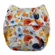 NEW! Blueberry Capri Nappy Wrap: Chickadee