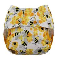 NEW! Blueberry Capri Nappy Wrap: Bears & The Bees