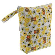 NEW! Blueberry Wet Bag: Bears & The Bees