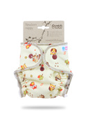 NEW! Petit Lulu Newborn Fitted Nappy: Forest Animals