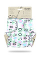 NEW! Petit Lulu Onesize Fitted Nappy: Flower Meadow Violet