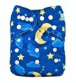 Alva Baby Onesize Nappy: Moon and Stars