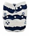 Alva Baby Onesize Nappy: Maritime