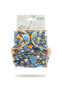 NEW! Petit Lulu Newborn Fitted Nappy: Hedgies in the Forest