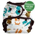 NEW! Best Bottoms Bigger Nappy Shell: Fox Trot