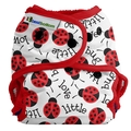 Best Bottoms Nappy Shell Onesize: Little Love Bug