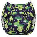 Blueberry Onesize Deluxe: Froggies