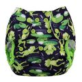 NEW! Blueberry Capri Nappy Wrap: Froggies