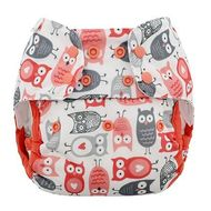 NEW! Blueberry Capri Nappy Wrap: Fire Owls