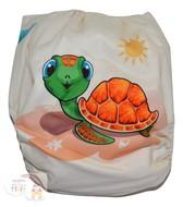 NEW! Alva Baby Onesize Nappy: Baby Turtle
