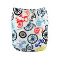 Alva Baby Onesize Nappy: Bicycles
