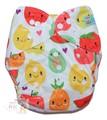 NEW! Alva Baby Onesize Nappy: Tutti Fruiti