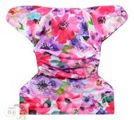 NEW! Alva Onesize Nappy Wrap: Floral