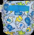 NEW! Ecopipo Onesize Pocket Nappy V2: Blue Elephants