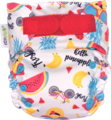 NEW! Ecopipo Onesize Pocket Nappy V2: Fruit Salad
