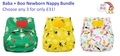 NEW! Baba+Boo Newborn Nappy Bundle