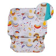 NEW! Grovia Onesize All-in-one: Rainbow Baby