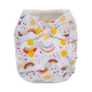 NEW! Grovia Newborn All-in-one: Rainbow Baby