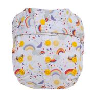 NEW! Grovia Onesize Hybrid All-in-two: Rainbow Baby