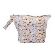 NEW! Grovia Wet Bag: Rainbow Baby