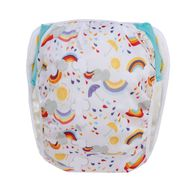 NEW! Grovia Swim Nappy: Rainbow Baby