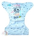 NEW! Alva Baby Onesize Nappy: Moon and Back