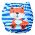 NEW! Alva Baby Onesize Nappy: Fox Stripes
