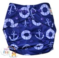 NEW! Alva Onesize Nappy Wrap: Anchors