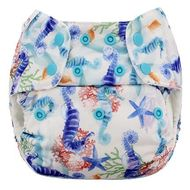 NEW! Blueberry Onesize Deluxe: Coral Reef