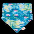 NEW! Smart Bottoms Bandana Bib: Water Lillies