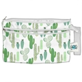 NEW! Planetwise Wet/Dry Clutch Bag: Prickly Cactus