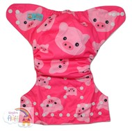 NEW! Alva Baby Onesize Nappy: Oink