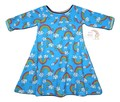 9-12m Sweet Agnes Dress: Rainbow Doodles