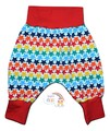 30% OFF! 3-6m Harem Pants: Rainbow Stars