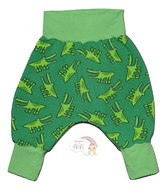3-6m Harem Pants: Cute Crocs