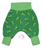 3-6m Harem Pants: Cute Crocs