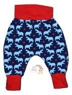 6-9m Harem Pants: Hippos
