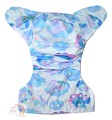 NEW! Alva Baby Onesize Nappy: Fractured Clouds