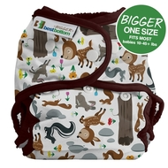 NEW! Best Bottoms Bigger Nappy Shell: Fawning Over You