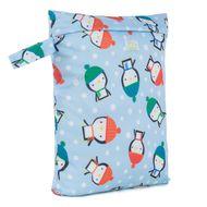 NEW! Baba+Boo Reusable Nappy Bag Small: Penguins