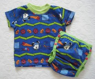 60% OFF! Dunk n Fluff T-shirt/Wrap Set - Mickey Mouse - Medium