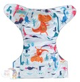 NEW! Alva Baby Onesize Nappy: Friendly Dino
