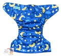 NEW! Alva Baby Junior Nappy: Moon and Stars