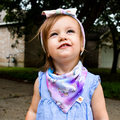 NEW! Smart Bottoms Bandana Bib: Chasing Rainbows